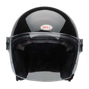 half helmet with face shield