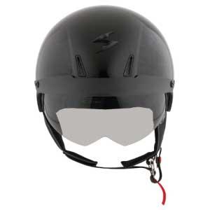 low profile open face motorcycle helmets