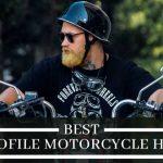 best low profile motorcycle helmets